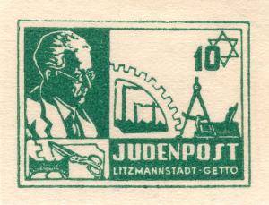 Postzegel Judenpost