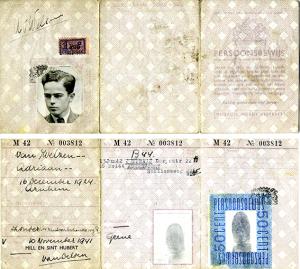 Vervalst persoonsbewijs Joep Huffener